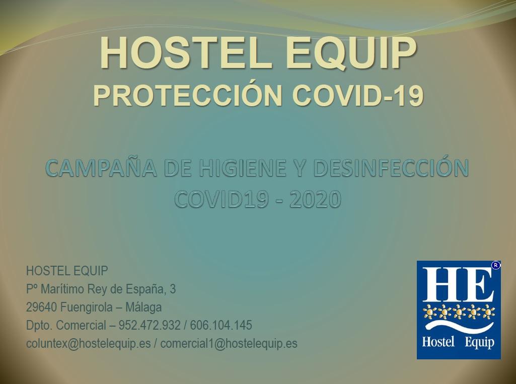 ARTÍCULOS DE DESINFECCIÓN Y PROTECCIÓN COVID19