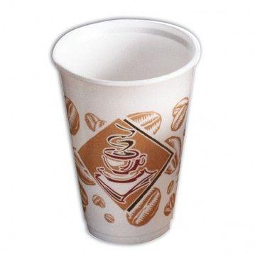 VASO FOAM 240 CL. LOGO CAFE CAJA 1000 UD.