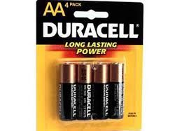 PILA DURACELL AA. 4 UDES