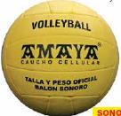 PELOTA SONORA DE CAUCHO CELULAR VOLEEY