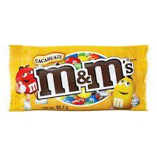 CHOCOLATINA M&M´S (YELLOW). 24 UDES