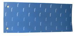 COLCHONETA AEROBIC 120X50X1,5 (CON OLLADOS)