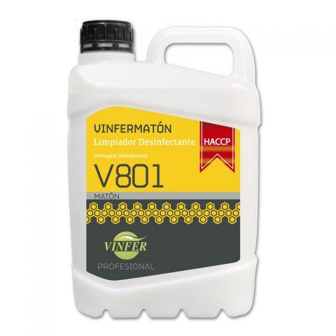 MATON LIMPIADOR DESINFECTAN V801 5L
